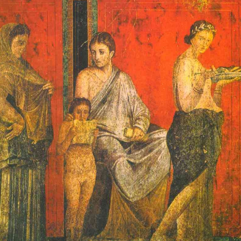 Reproductions of Roman and Greek paintings