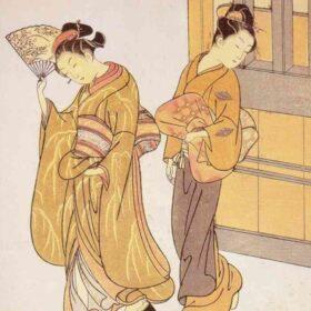 Reproducciones de pintura china y japonesa