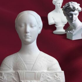 Bustos, estatuas y figuras de escayola