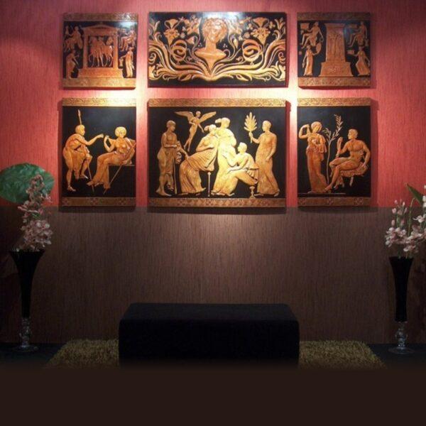 Sequenza immagini decorazione