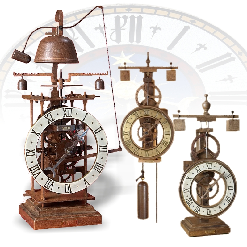 Medieval clocks. 15th century