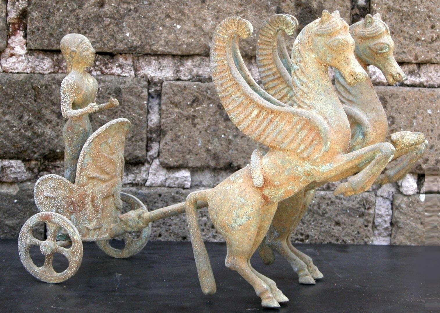 Biga-pegasos-etruscos-_Bronce